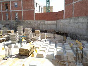 escuela-300x225 LA EMPRESA CONSTRUCTORA GONZÁLEZ SOTO S.A. TERMINA LOS TRABAJOS DE CIMENTACIÓN DE LA NUEVA ESCUELA DE TURISMO DE MURCIA