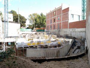 escuela1-300x225 LA EMPRESA CONSTRUCTORA GONZÁLEZ SOTO S.A. TERMINA LOS TRABAJOS DE CIMENTACIÓN DE LA NUEVA ESCUELA DE TURISMO DE MURCIA
