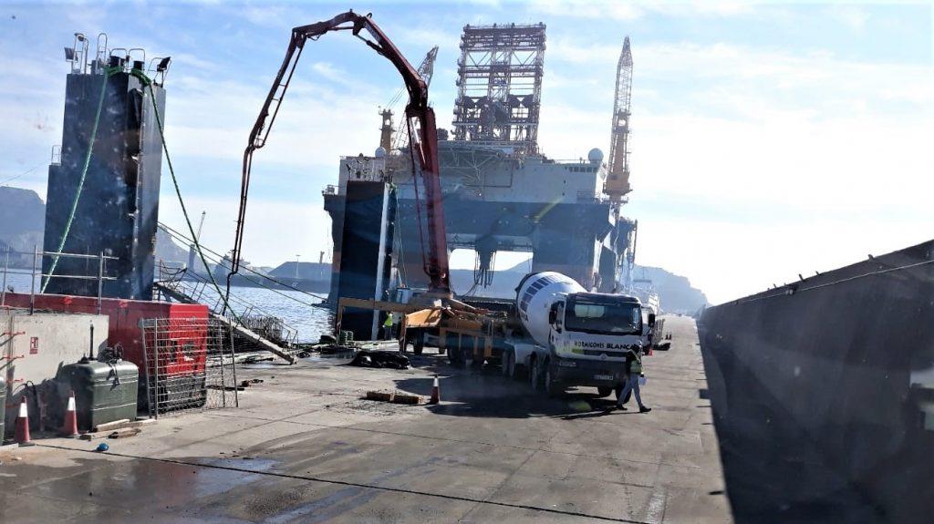 h1-1024x575 HORMIGONES BLANCA sirve hormigón destinado a la ejecución de cajones para la Autoridad portuaria de Cartagena