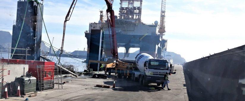 h1-825x340 HORMIGONES BLANCA sirve hormigón destinado a la ejecución de cajones para la Autoridad portuaria de Cartagena