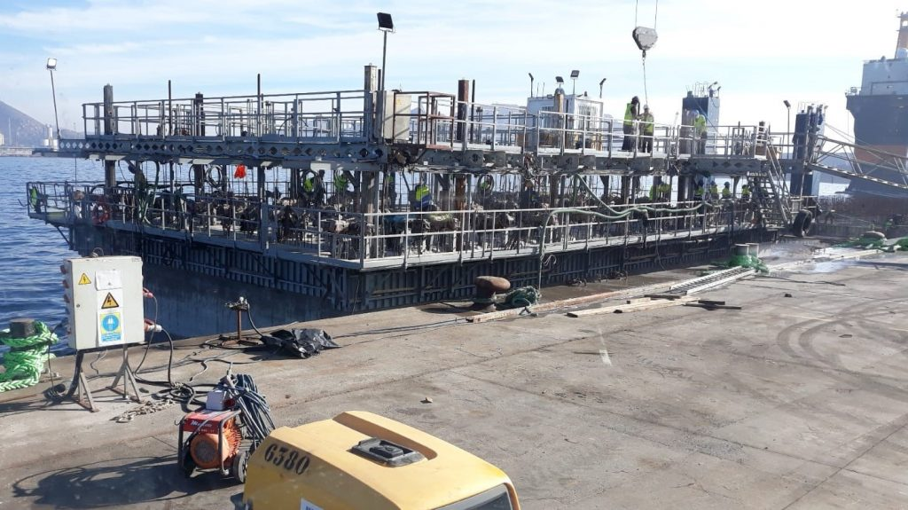 h2-1024x575 HORMIGONES BLANCA sirve hormigón destinado a la ejecución de cajones para la Autoridad portuaria de Cartagena