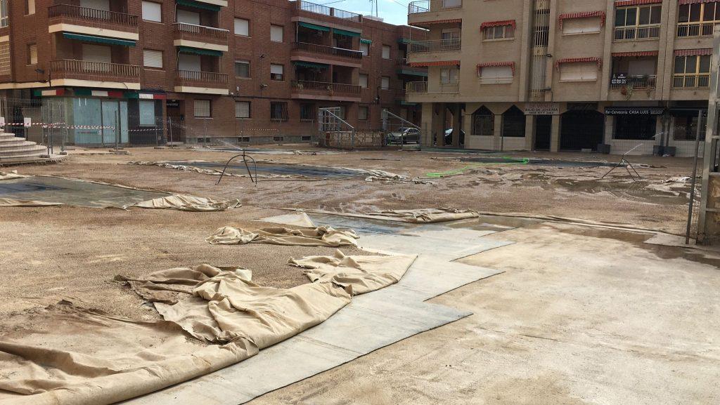 IMG-20210430-WA0001-1024x577 GONZALEZ SOTO Avanza en la rehabilitación de la plaza del Ayuntamiento de los Alcázares