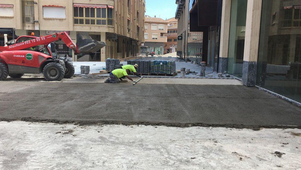 IMG-20210517-WA0001-1024x577 GONZALEZ SOTO Avanza en la rehabilitación de la plaza del Ayuntamiento de los Alcázares