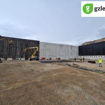MUROS6-350x350 GONZALEZ SOTO inicia los trabajos de movimiento de tierras para la nave de graneles sólidos