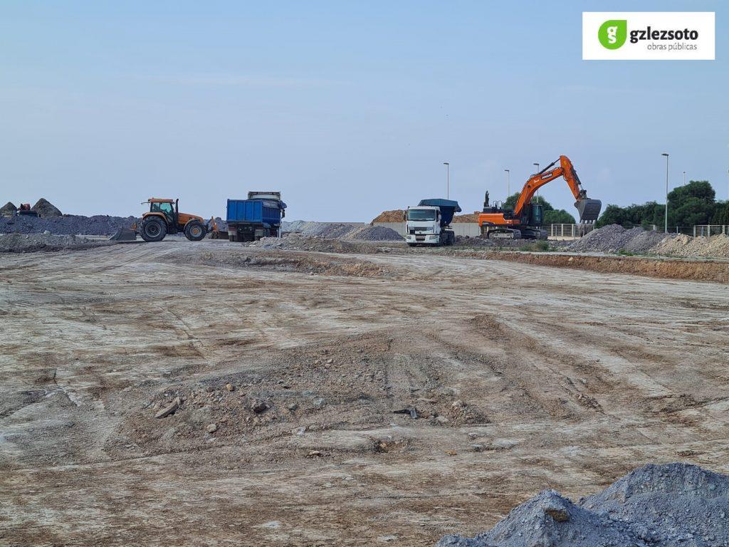 M_TIERRAS-1024x768 GONZALEZ SOTO inicia los trabajos de movimiento de tierras para la nave de graneles sólidos